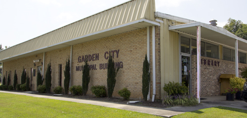 Garden City, Alabama, Municipal Building and Library